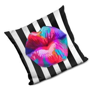 💋🆕 Jodi Pedri ♡ Smooches Pillow ♡ Multicolor Lip